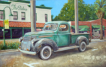 Grandpa's Truck - 18x28 inches